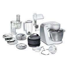 Кухонный комбайн BOSCH MUM58252RU, белый/серебристый