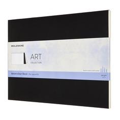 Блокнот Moleskine ART WATERCOLOR 230х310мм 72стр. нелинованный мягкая обложка черный 6 шт./кор.