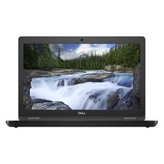 """Ноутбук DELL Latitude 5590, 15.6"""", IPS, Intel Core i7 8650U 1.9ГГц, 16Гб, 512Гб SSD, nVidia GeForce Mx130 - 2048 Мб, Windows 10 Professional, 5590-1597, черный"""
