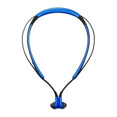 Наушники с микрофоном SAMSUNG Level U, Bluetooth, вкладыши, синий [eo-bg920blegru]