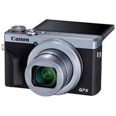 Фотоаппарат компактный премиум Canon PowerShot G7 X Mark III Silver