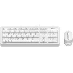 Комплект клавиатура+мышь A4Tech FStyler F1010 White/Grey