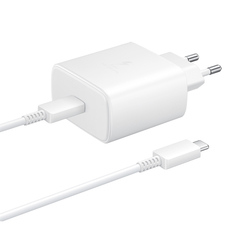 Сетевое зарядное устройство Samsung EP-TA845 USB Type-C 45W White