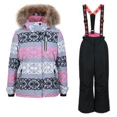 Комплект куртка/полукомбинезон StellaS Kids Versal, цвет: черный