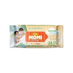 Влажные салфетки Momi Family детские extra size, 24 шт