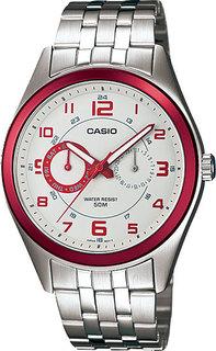Японские мужские часы в коллекции Collection Мужские часы Casio MTP-1353D-8B3-ucenka