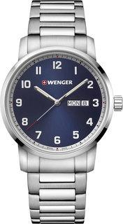 Швейцарские мужские часы в коллекции Attitude Мужские часы Wenger 01.1541.121