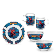 Набор посуды PrioritY Человек-паук 3 предмета