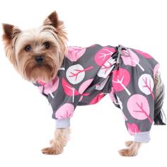 Комбинезон для собак YORIKI Деревья для девочки ХL 32 см