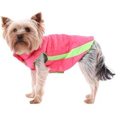 Жилет для собак YORIKI Контраст Розовый унисекс ХL 32 см