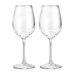 Набор бокалов Bohemia Crystal Turbulence для вина 0,35 л