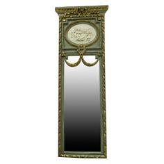 Зеркало с барельефом Wah luen handicraft 160х57см