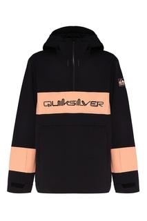 Черный анорак Anniversary Quiksilver