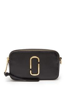 Компактная черная сумка Logo Strap Snapshot The Marc Jacobs