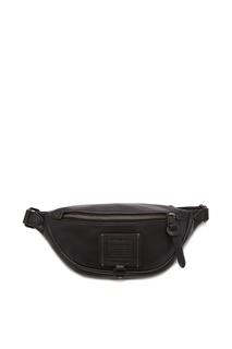 Поясная сумка черного цвета Rivington Coach