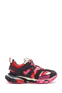Комбинированные массивные кроссовки Balenciaga