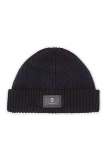 Черно-синяя вязаная шапка Billionaire