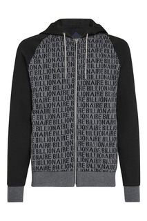 Спортивный черно-серый костюм Billionaire