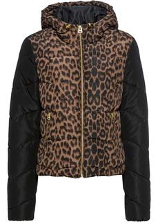 Все куртки Куртка с леопардовым принтом Bonprix