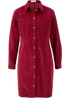 Платье стрейч из вельвета Bonprix