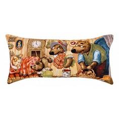 Подушка декоративная (68x35 см) Маша и медведи 850-901-72
