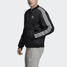 Утепленная куртка-бомбер adidas Originals