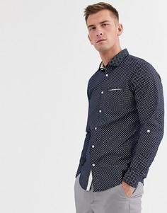 Приталенная рубашка с длинными рукавами Selected Homme salford