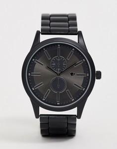 Мужские черные часы с хронографом Spirit