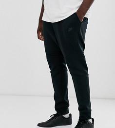 Черные флисовые джоггеры Nike Plus Tech