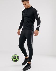Черные суженные джоггеры Nike Football