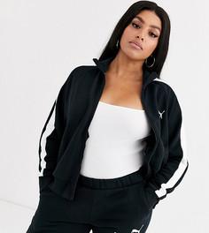Черная спортивная куртка Puma Plus - Classics T7