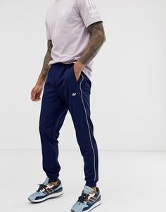 Темно-синие премиум-джоггеры adidas Originals Samstag