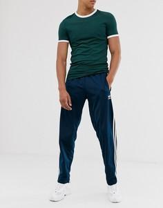Темно-синие спортивные брюки adidas Originals