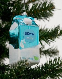 """Новогоднее елочное украшение """"Соевое молоко"""" Sass & Belle"""