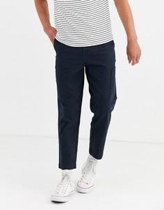 Укороченные брюки с карманами Selected Homme