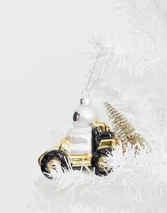 """Новогоднее украшение с дизайном """"луноход"""" Sass & Belle"""