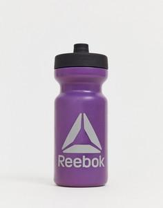 Фиолетовая бутылка для воды Reebok - 500 мл