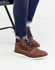 Коричневые повседневные ботинки Jack & Jones