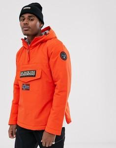 Оранжевая куртка Napapijri - Rainforest Winter 1
