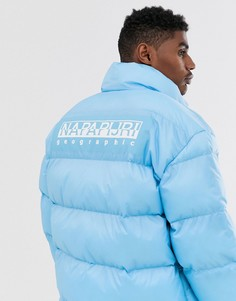 Синяя дутая куртка Napapijri Ari