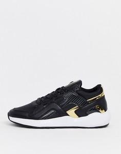 Черные кроссовки SikSilk