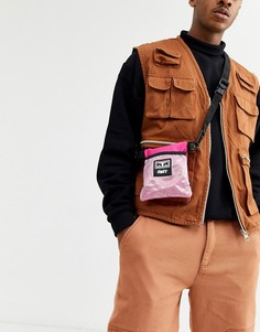 Розовая сумка Obey