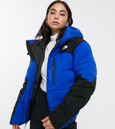 Синяя дутая куртка The North Face Himalayan