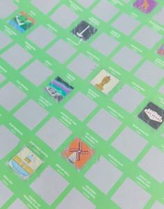 Скретч-постер со списком из 100 мест для посещения Gift Republic