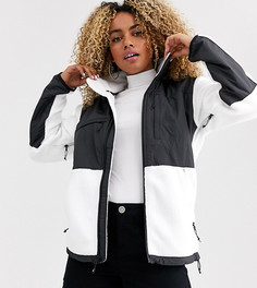 Черно-белая флисовая куртка The North Face Denali