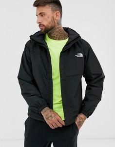 Черная утепленная куртка с капюшоном The North Face Resolve
