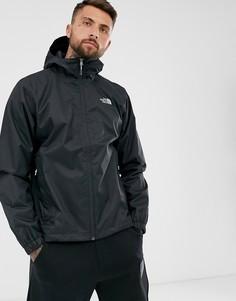 Черная утепленная куртка The North Face Quest