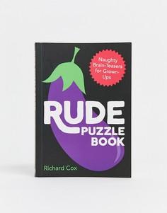 Книга с головоломками Rude puzzle book Books