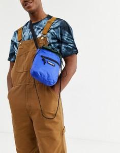 Синяя сумка Obey