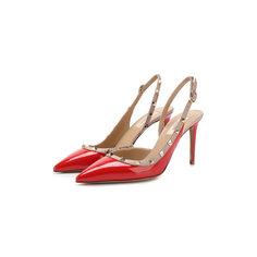 Туфли Valentino Кожаные туфли Valentino Garavani Rockstud Valentino
